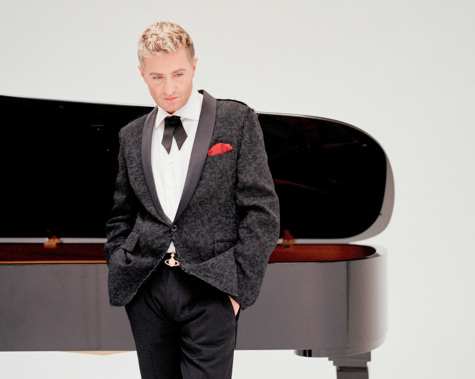 Colburn Piano Extravaganza Featuring Jean-Yves Thibaudet and Fabio Bidini. Pictured: Jean-Yves Thibaudet.