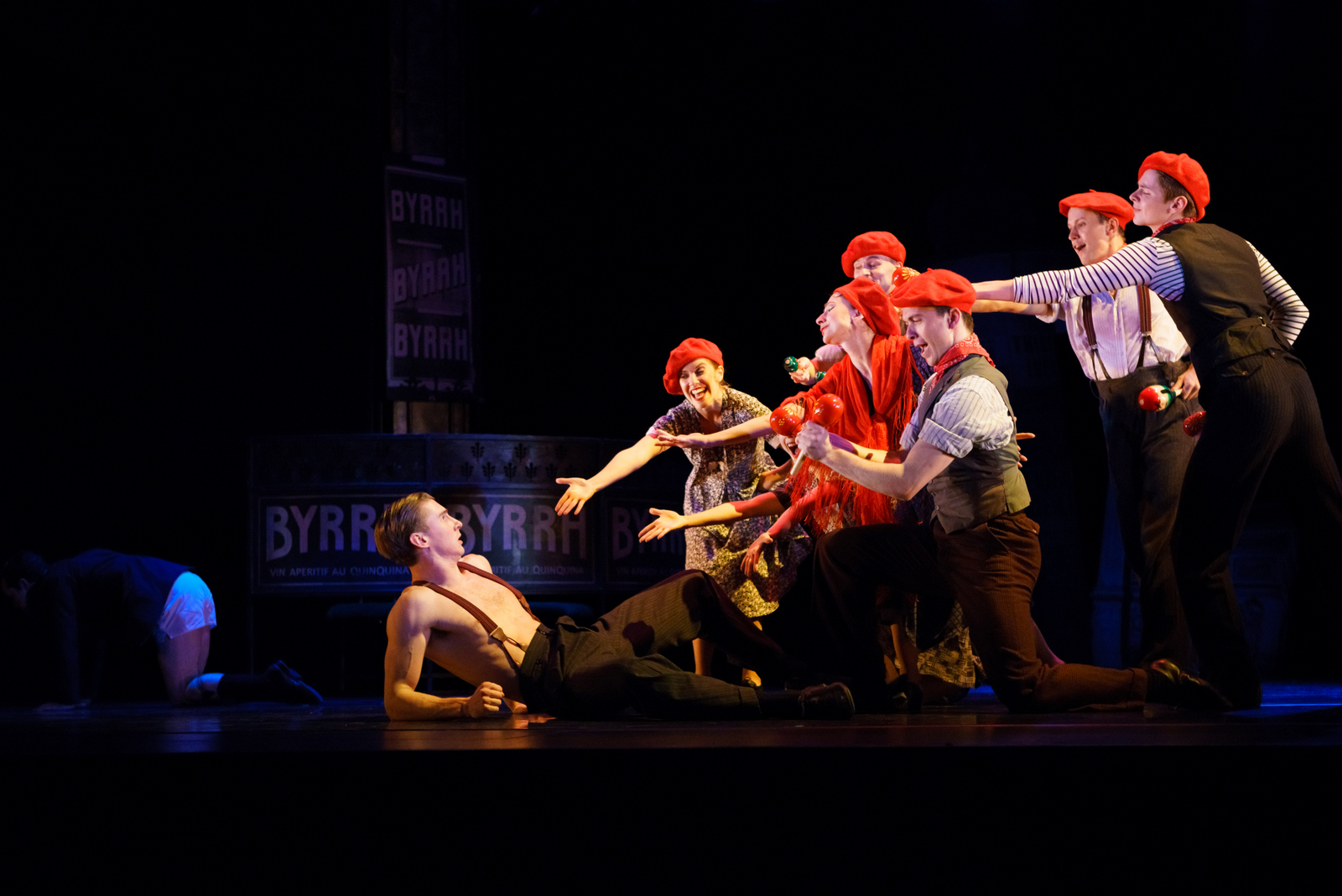 Matthew Bourne's Early Adventures' 'The Infernal Galop' at The Wallis in Beverly Hills on Wednesday, May 17 (through Sunday, M