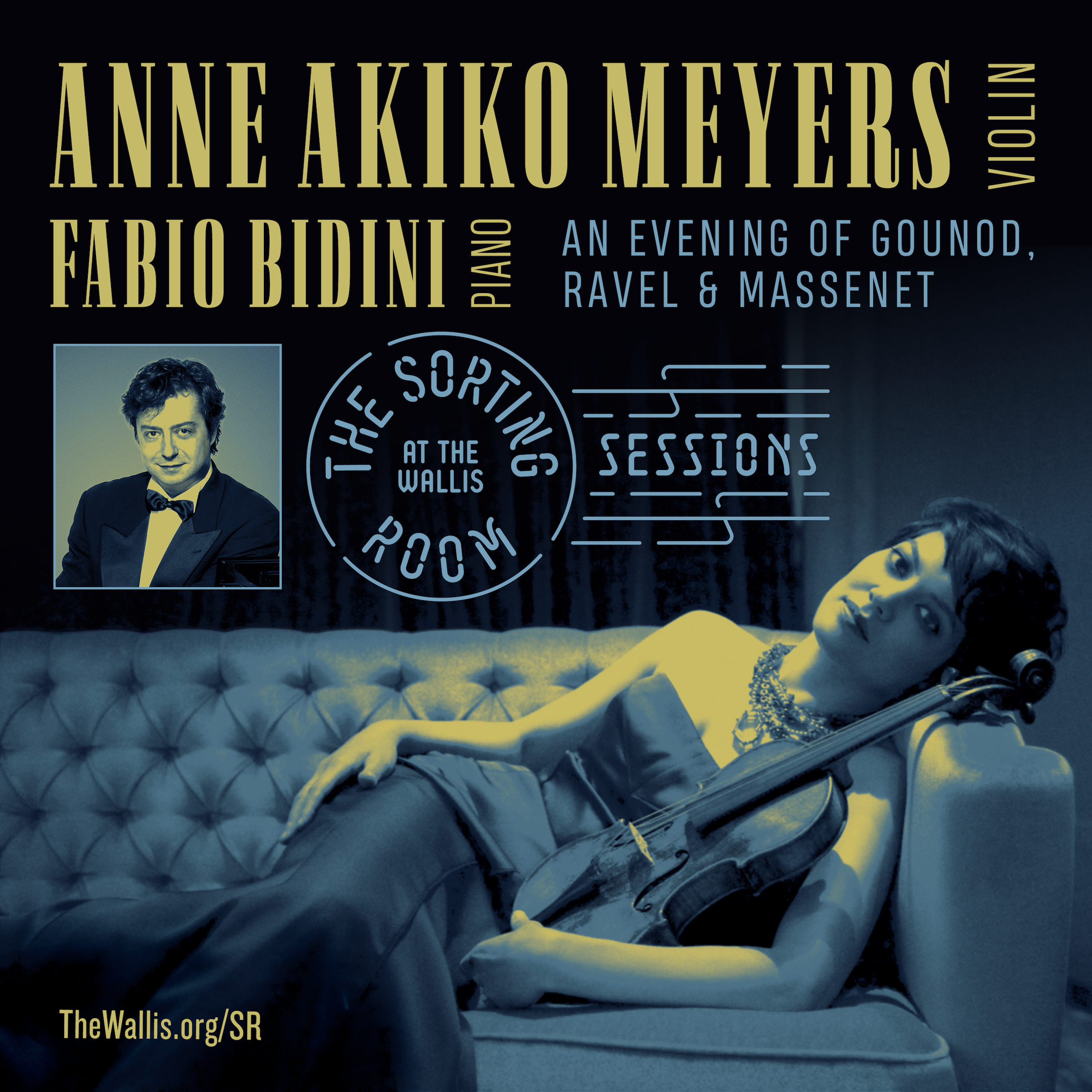 An Evening with Violinist Anne Akiko Meyers and Pianist Fabio Bidini